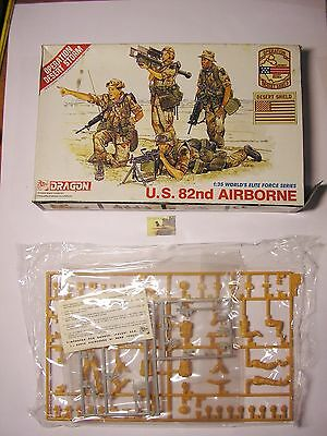 Soldatini Dragon Kit Montaggio US 82nd Airbone Operation Desert Storm scala 1:35