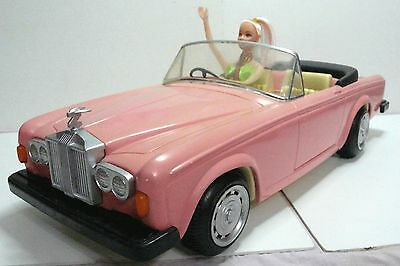 GIANT 50cm Zima. Barbie doll sized 1970s Rolls Royce Silver Shadow Corniche #083
