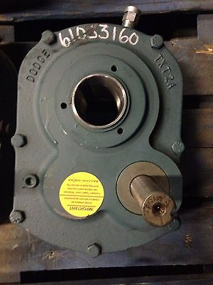 Dodge TXT215AT  Shaft Mounted Speed, Gear Reducer (Lot of 2)