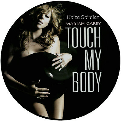MARIAH CAREY - Touch My Body - 12 inch Vinyl Picture Disc.