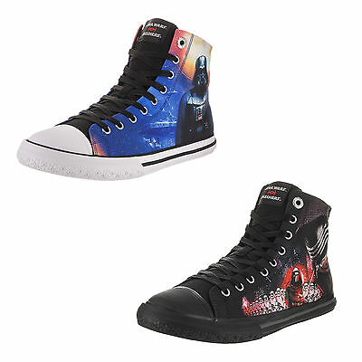 SKECHERS STAR WARS LEGACY VULC High Top Canvas Comfort