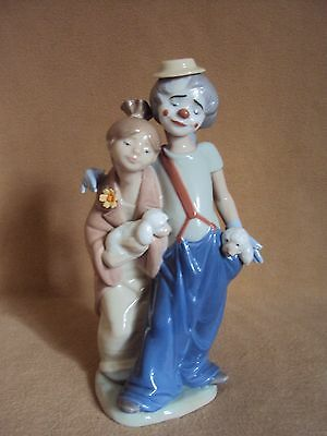 Lladro Clown PALS FOREVER