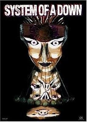 SYSTEM OF A DOWN ~ MESMERIZE 22x34 MUSIC POSTER Masks