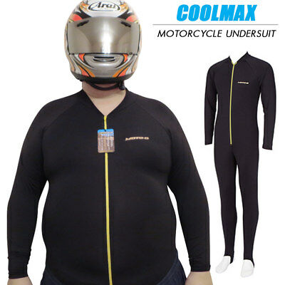 MOTO-D Coolmax Motorcycle Undersuit - XL