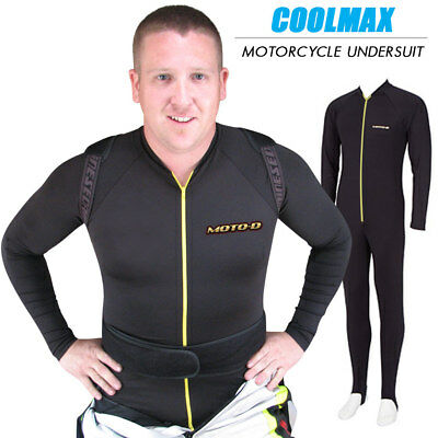MOTO-D Coolmax Motorcycle Undersuit - XS