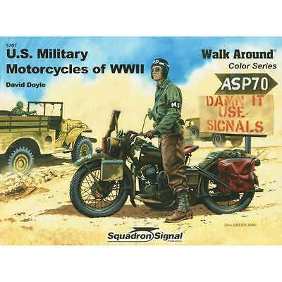 NEW Squadron/Signal US Military Motorcycles of WWII 5707