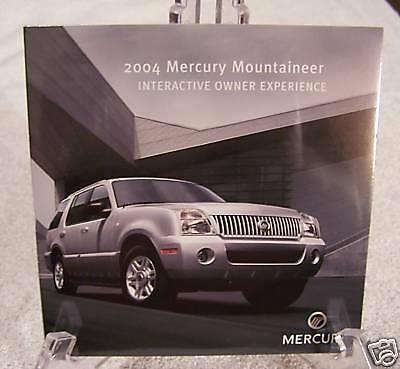 *NEW* 2004 Mercury Mountaineer Interactive Owners CD