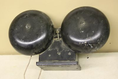 Vintage Gte Automatic Electric School Fire House Bell Alarm Industrial