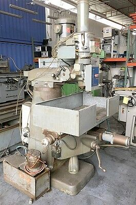 NICE! 9 x 42 BRIDGEPORT 3-AXIS CNC MILL MILLING MACHINE W/ BANDIT CONTROL