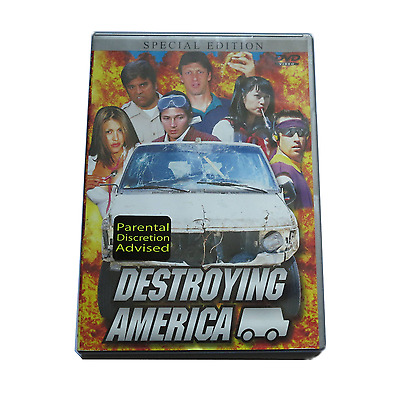 HOOK UPS - DESTROYING AMERICA - DVD. RARE skateboarding