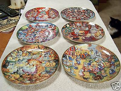 Franklin Mint Heirloom Recommendation Collector Plates