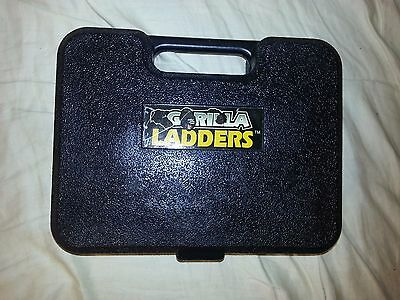 Gorilla Ladders Static Hinges & Carry Case Euc