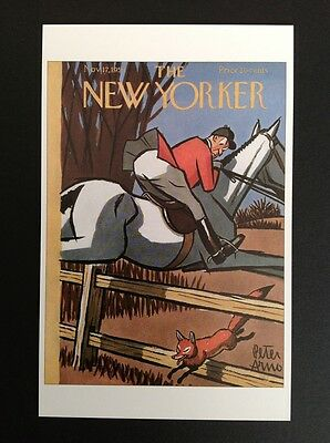 POSTCARD FROM THE NEW YORKER - November 17, 1951 Cover Postcard (NEW)