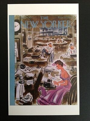 POSTCARD FROM THE NEW YORKER - March 22, 1952 Cover Postcard (NEW)