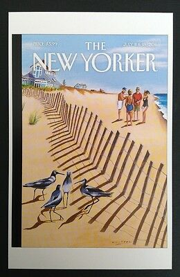 POSTCARDS FROM THE NEW YORKER - July 11 & 18, 2011 Cover Postcard - NEW