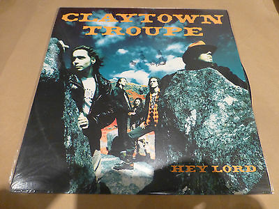"""Claytown Troupe -  Hey Lord (12"""" Vinyl Record) Signed Picture Disc - SUPER RARE"""