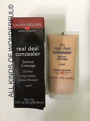 Laura Geller The Real Deal Concealer in Light 20g Brand new with Box