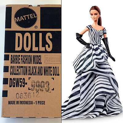 2016 Chiffon Ball Gown Barbie Doll Platinum Label ModelMuse NRFB Sealed Shipper
