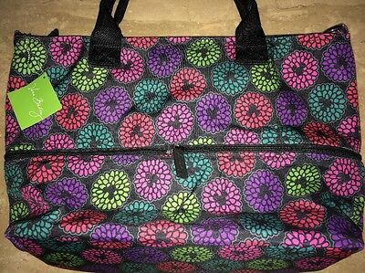 Disney VERA BRADLEY Magical Blooms Tote Authentic