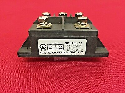MDS100-16 3-Phase  Bridge Rectifier Diode 100A Amp 1600V MDS100A
