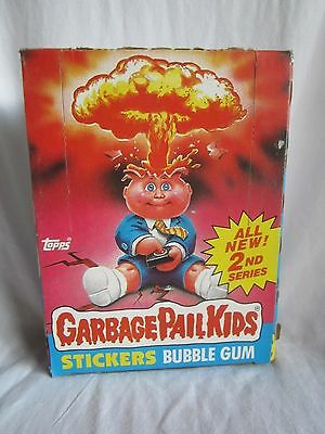 1985 Topps Garbage Pail Kids series 2 box filled with 48 packs trading cards (BH