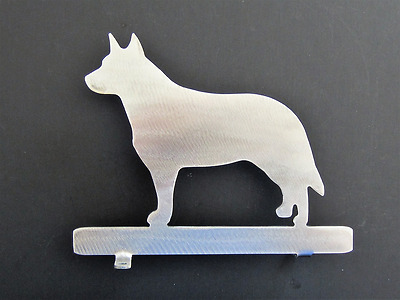 Australian Cattle Dog Mailbox Topper Metal Steel Home Decor Silhouette 7 inch