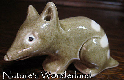 Eastern Barred BANDICOOT - Ceramic Australian Native WILDLIFE Sculpture HANDMADE