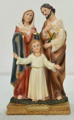 """Holy Family Statue, 215mm (8 1/2"""") High Resin Statue"""