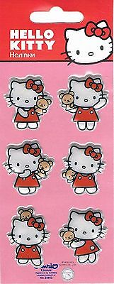 3D puffy Stickers HELLO KITTY UKRAINE / GERMANY