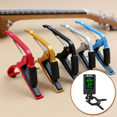 Aluminum Alloy Clamp Key Capo For Acoustic Electric Classic Guitar