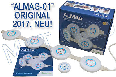 Magnetic field therapy. Device ALMAG-01, fully automated, universally, original.