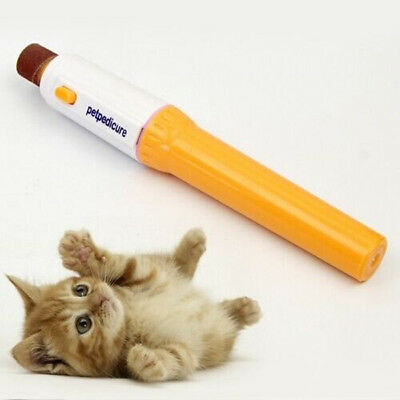 Practical Pet Dog Cat Nail Grooming Grinder Trimmer Clipper Electric Nail File