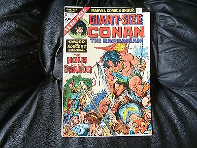 Conan the Barbarian giant size # 1 really nice condition Gil Kane and B.Smith ar
