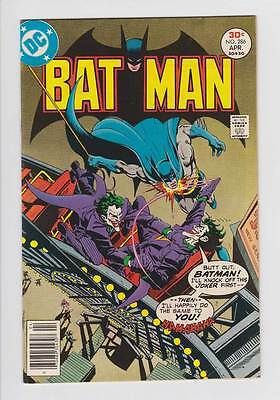 Batman # 286  Classic Double Joker cover !  grade 6.5 scarce book !