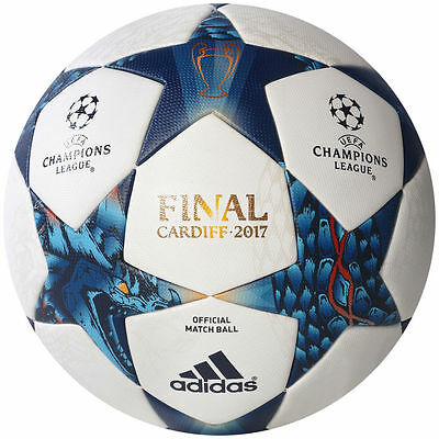 AUTHENTIC ADIDAS MATCH BALL CARDIFF Finale 2017 UEFA CHAMPIONS LEAGUE 2017