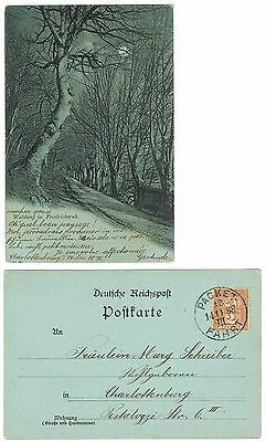 DEUTSCHE STADTPOST BERLIN PACKETFAHRT B66 EF Postkarte = GERMANY PRIVAT POSTCARD