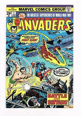 Invaders # 1  Fabulous 1st Issue - Battle Over Britain ! grade 7.0 scarce book !
