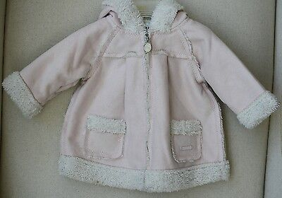 Dior Baby Hooded Shearling Jacket 3 Months
