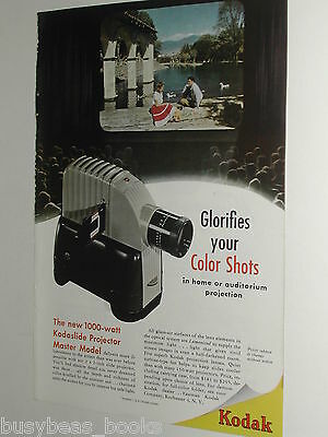1948 KODAK slide projector advertisement page for Kodak  Kodaslide Projector