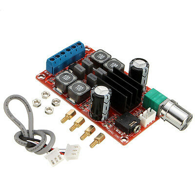2x50W Digital Power Amplifier Board 5V To 24V Dual Channel Stereo AMP TPA3116D2