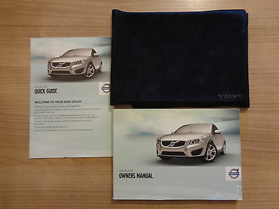 Volvo C30 Owners Handbook Manual and Wallet 09-12