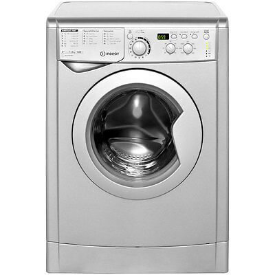 Indesit EWD81482S My Time A++ 8Kg 1400 Spin Washing Machine Silver New from AO