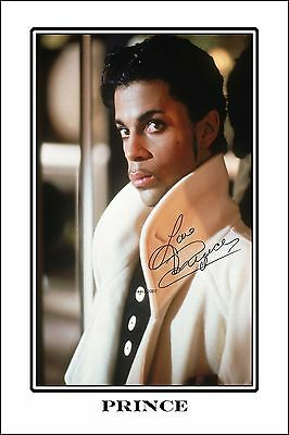 4x6 SIGNED AUTOGRAPH PHOTO PRINT OF PRINCE #41