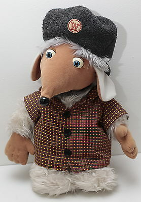 """The Wombles  Bungo Womble  13"""" Tall Plush Soft Toy  1998 Very Good Condition"""