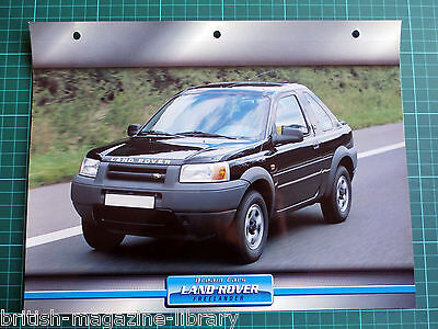 Land Rover Freelander - Dream Cars Atlas Edition