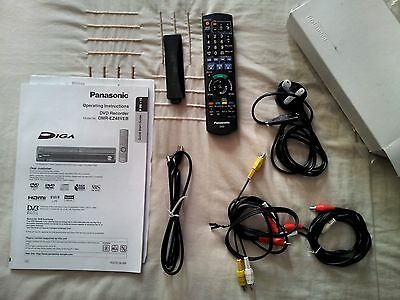 panasonic manual for DMR-EZ48(with accessories)