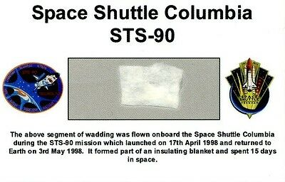 Own a Genuine Piece of Space Shuttle Columbia - Flown in Space - For Just $4.95