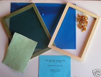 Handcrafted  Paper  Making  Kit  -  A4