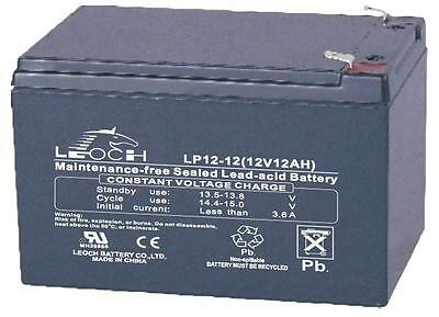 BATTERY LEAD ACID AGM 12V 12AH - Rechargeable - Batteries