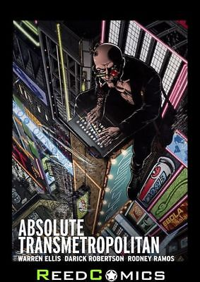 ABSOLUTE TRANSMETROPOLITAN VOLUME 1 HARDCOVER New Hardback Collects Issues #1-18